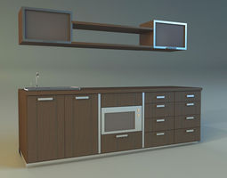 lower Kitchen 3D model