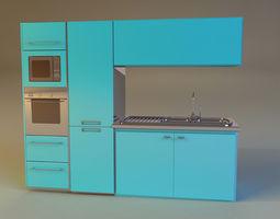 3D model Kitchen kitchen furniture