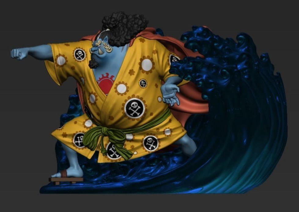 Jinbe statue - One Piece - Anime