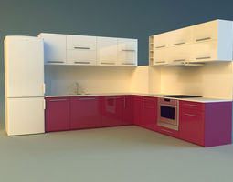 kitchen 6 3d