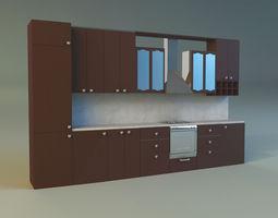 3d model kitchen 7