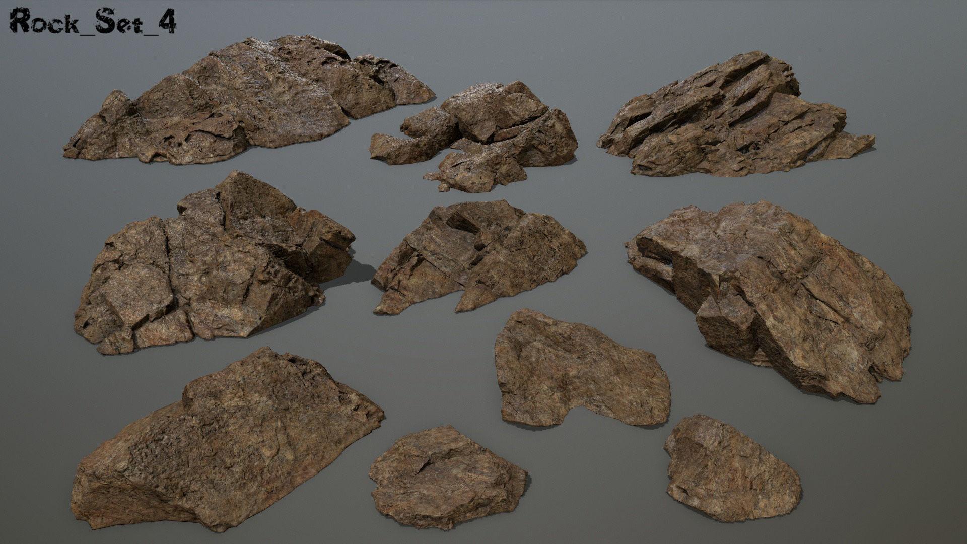 desert rock set 4