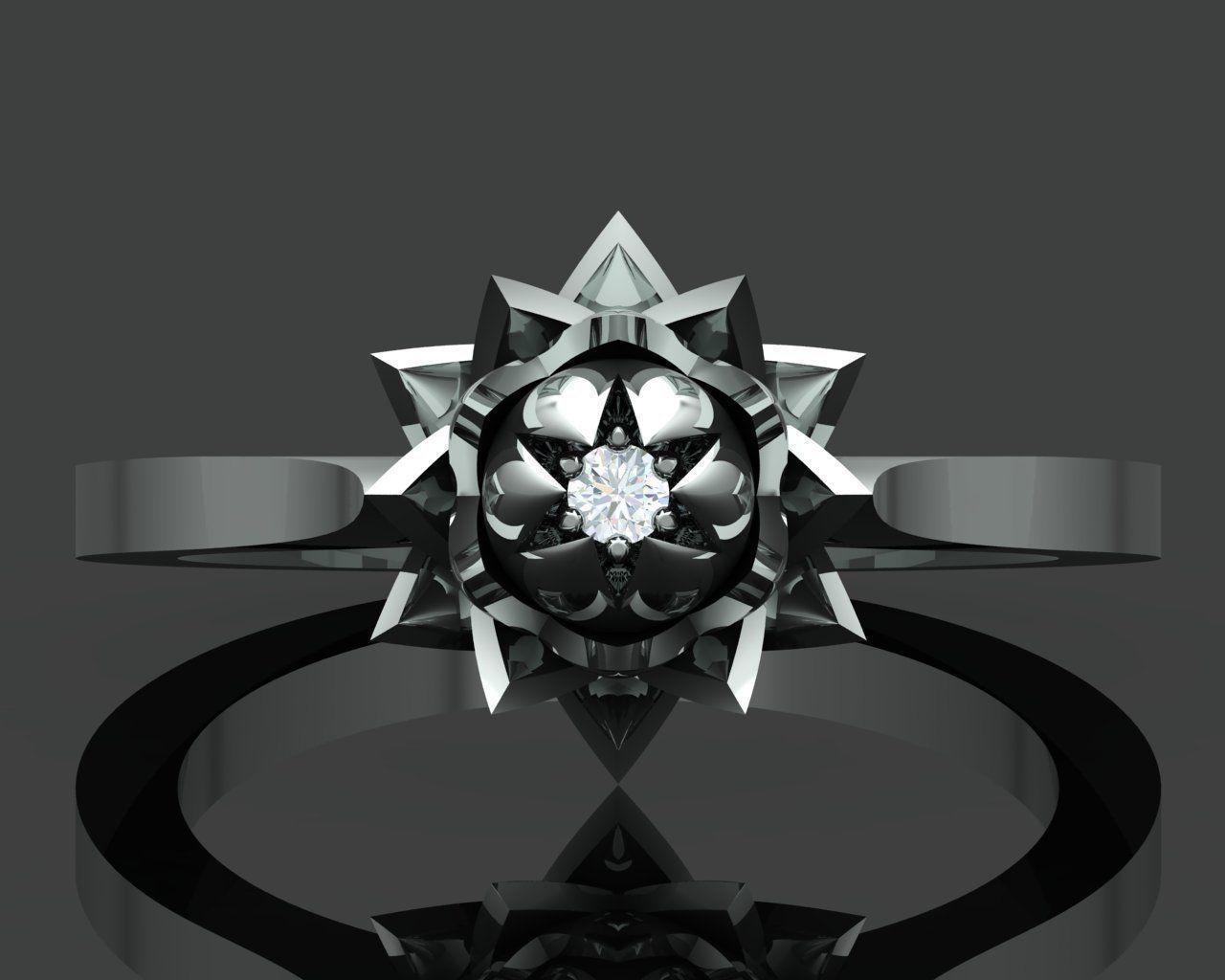 Ethereal Lotus Ring