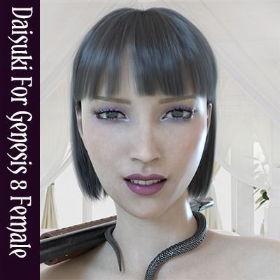 Daisuki Japanese Teen For Genesis 8 Female