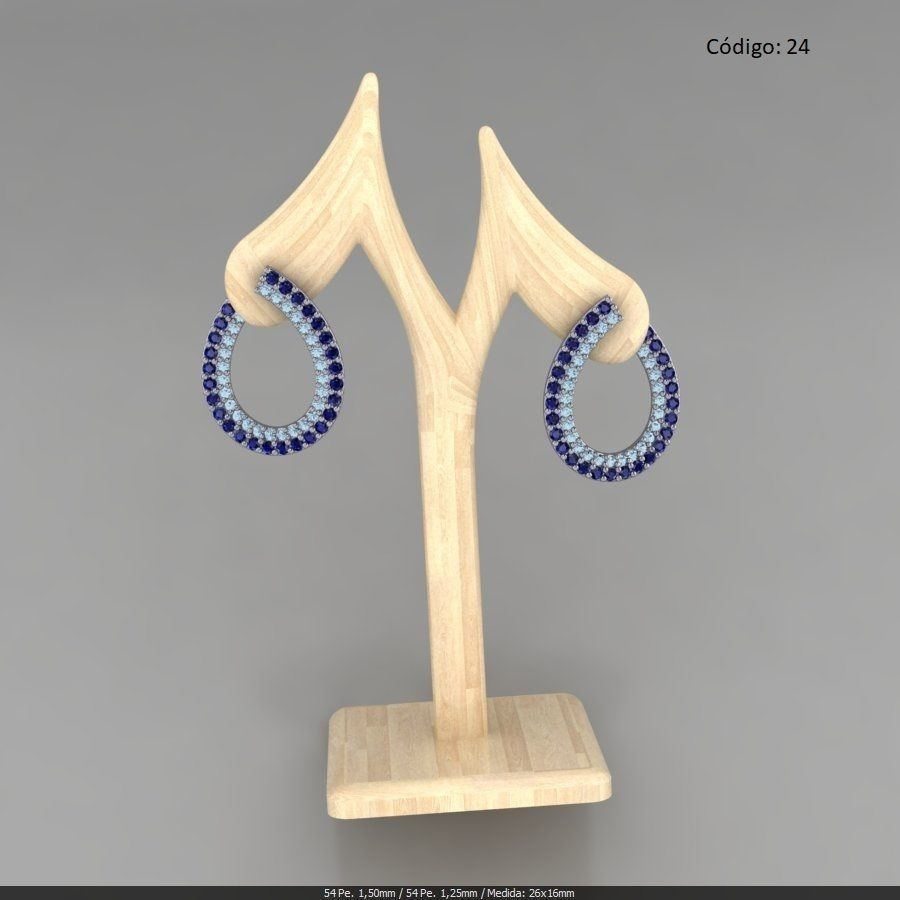 Earring Rounds Curve