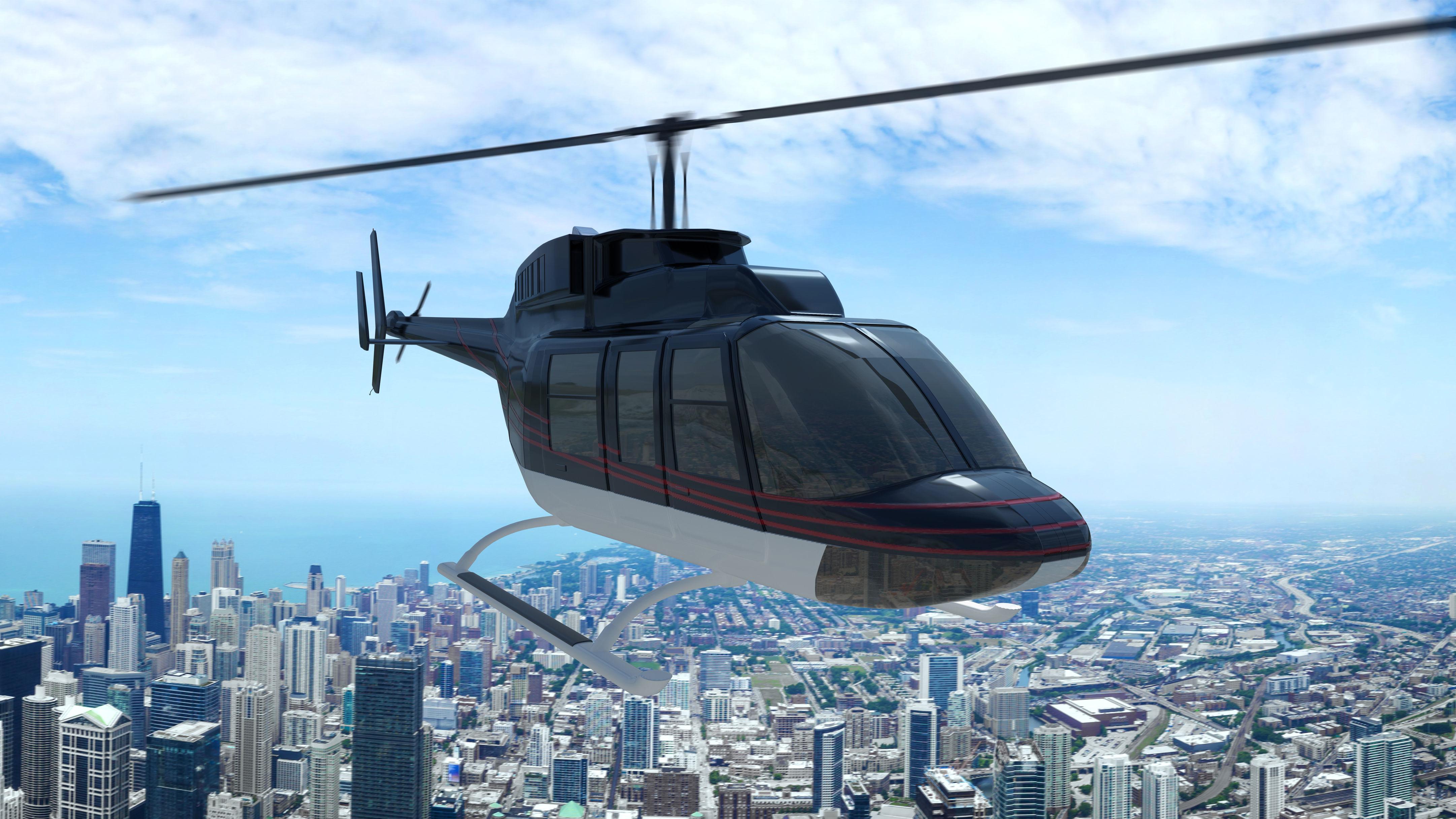 Helicopter Bell 206L-4 Long Ranger IV