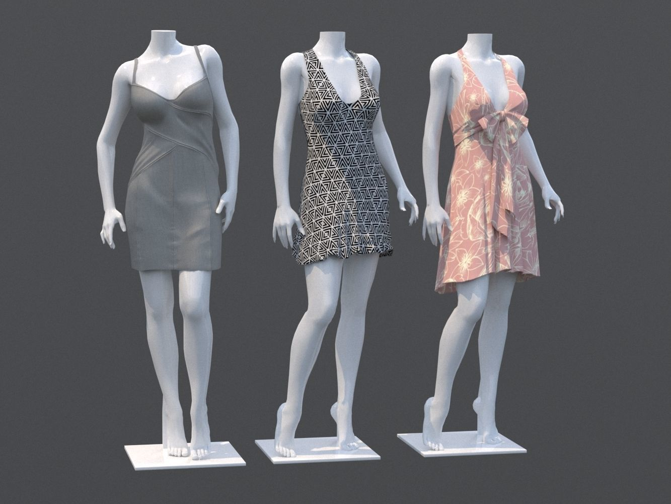Mannequin Woman Cloth Model For Shop Vol4