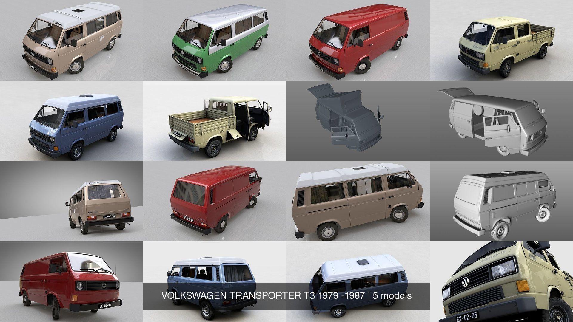 VOLKSWAGEN TRANSPORTER T3 1979 -1987