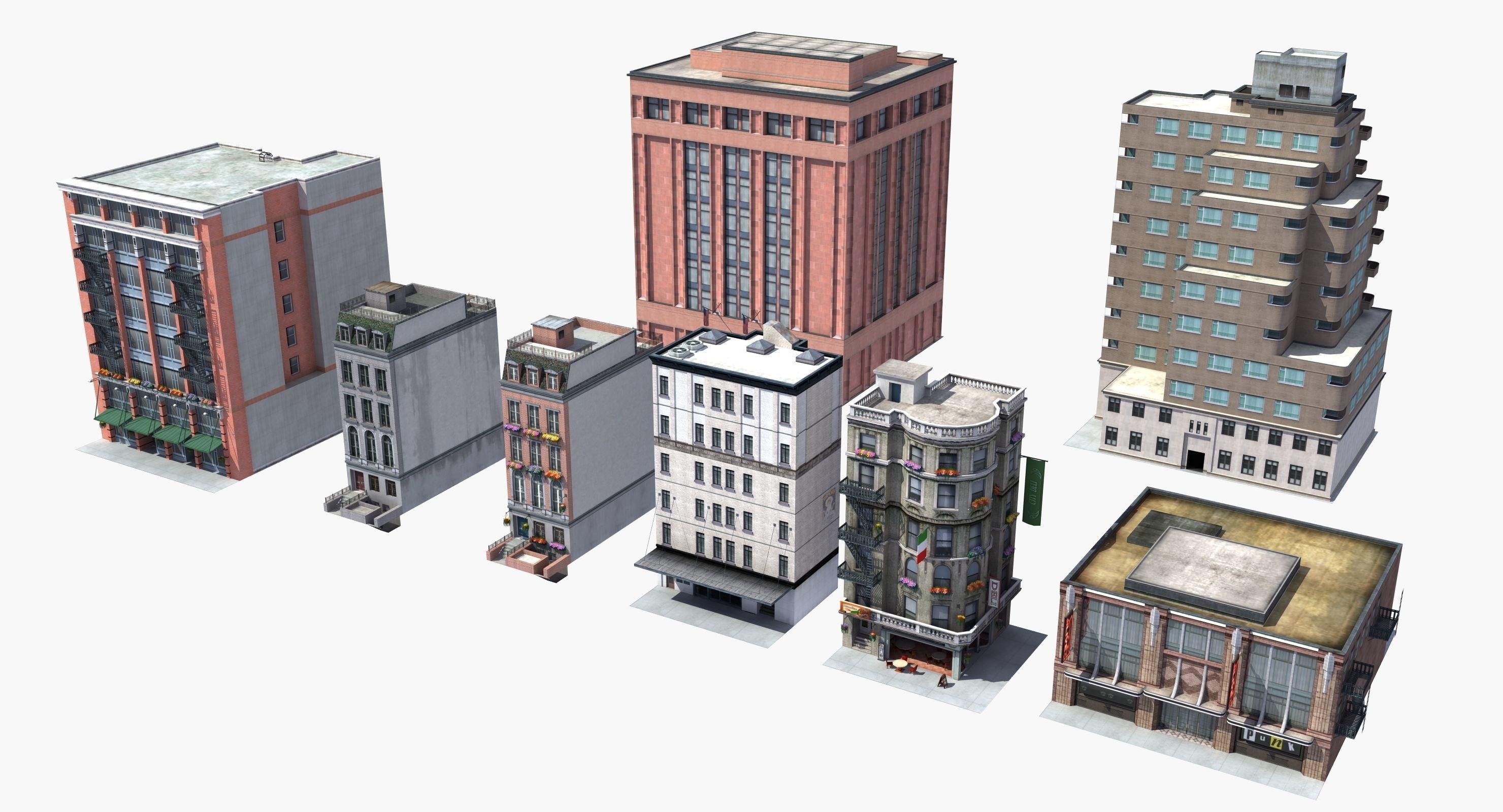 8 City Buildings