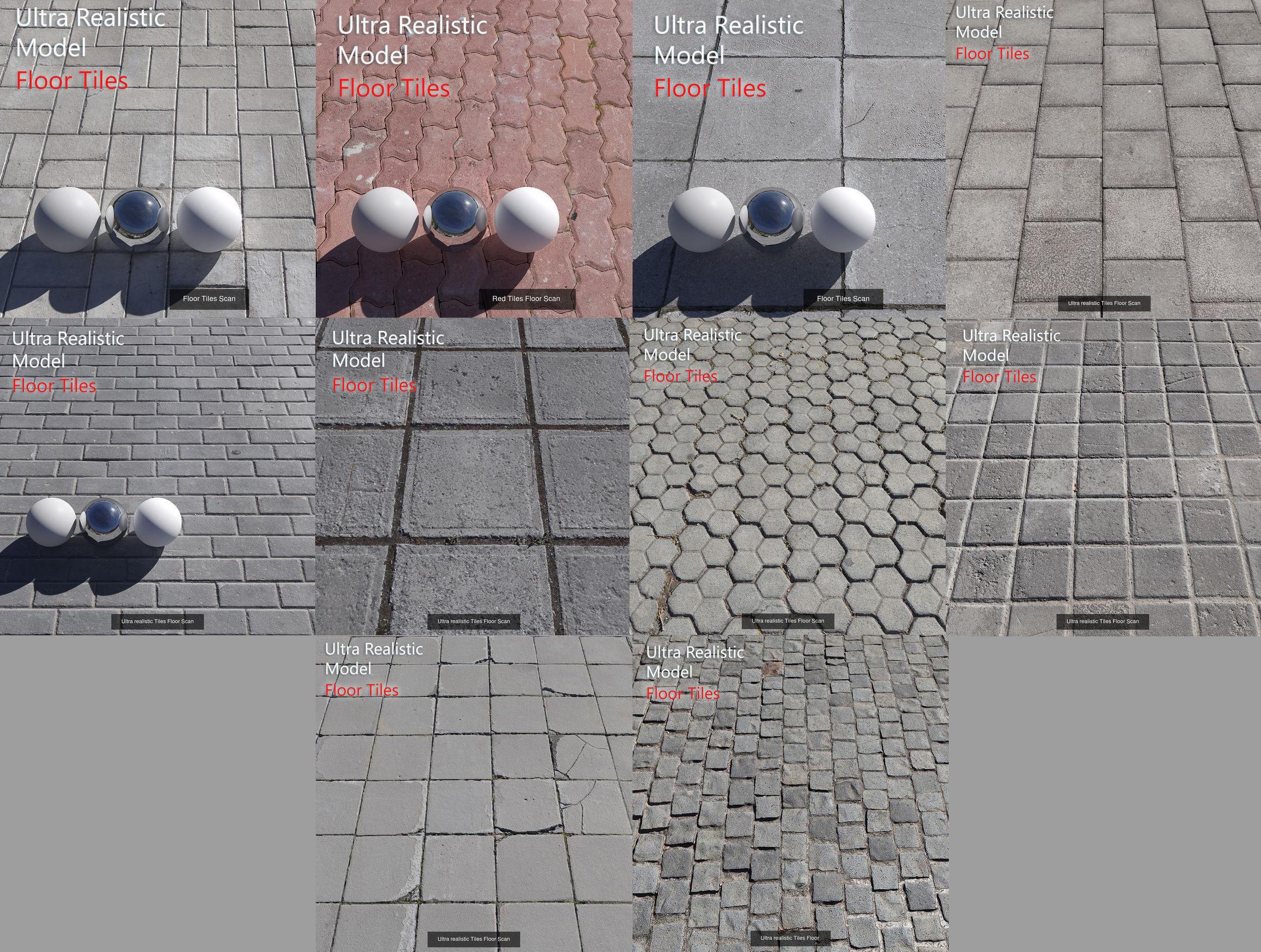 Ultra realistic Floor Tiles
