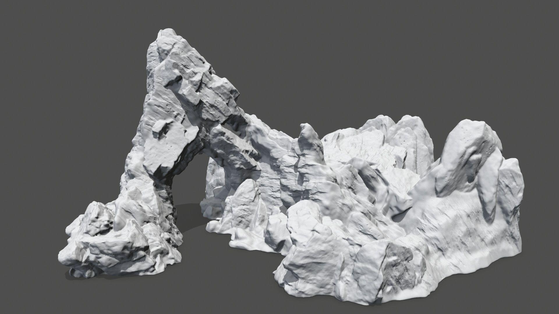 print rock