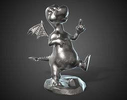 dragon for jewerly 3d print - 30mm