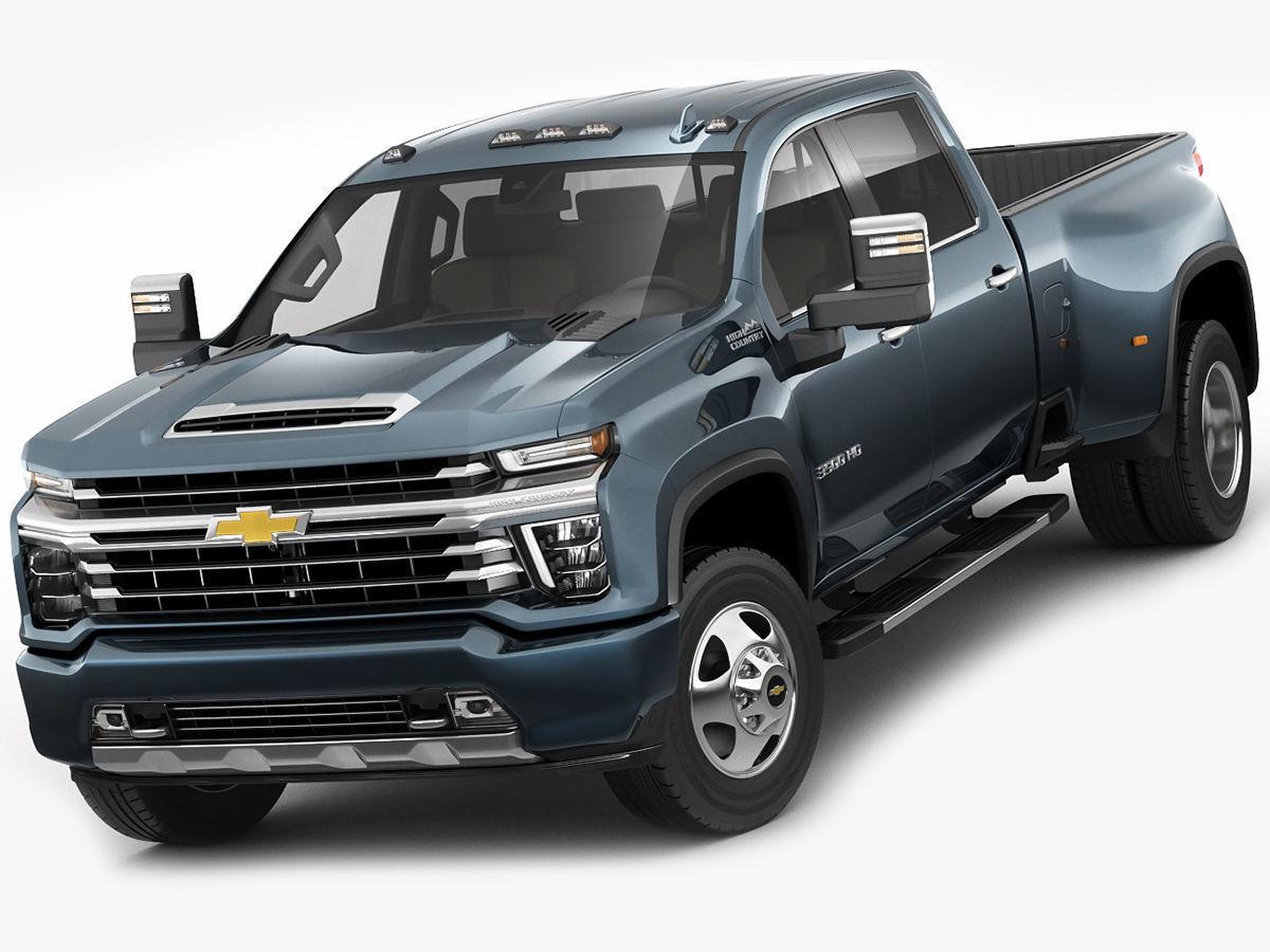Silverado 2020 3500HD pick-up truck