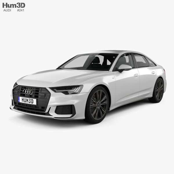 Audi A6 S-Line sedan with HQ interior 2018