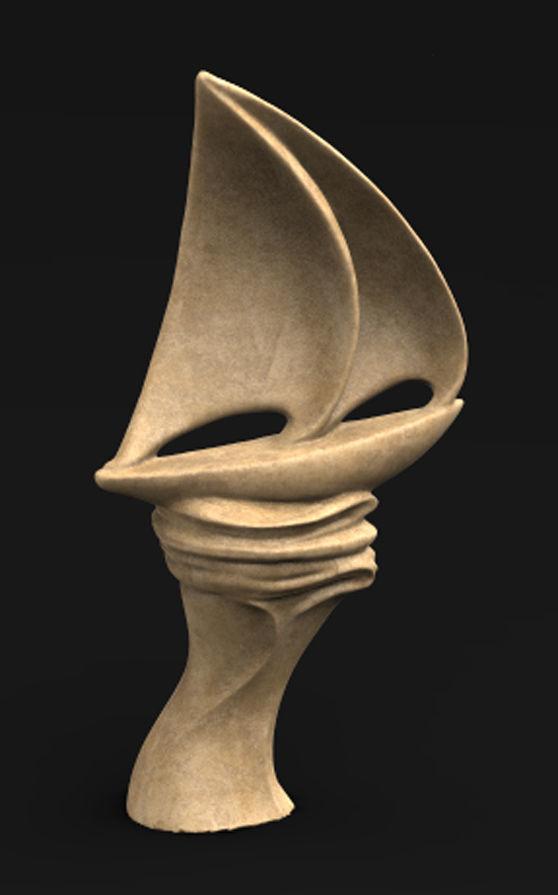 Sail Boat Decorative 3D Model
