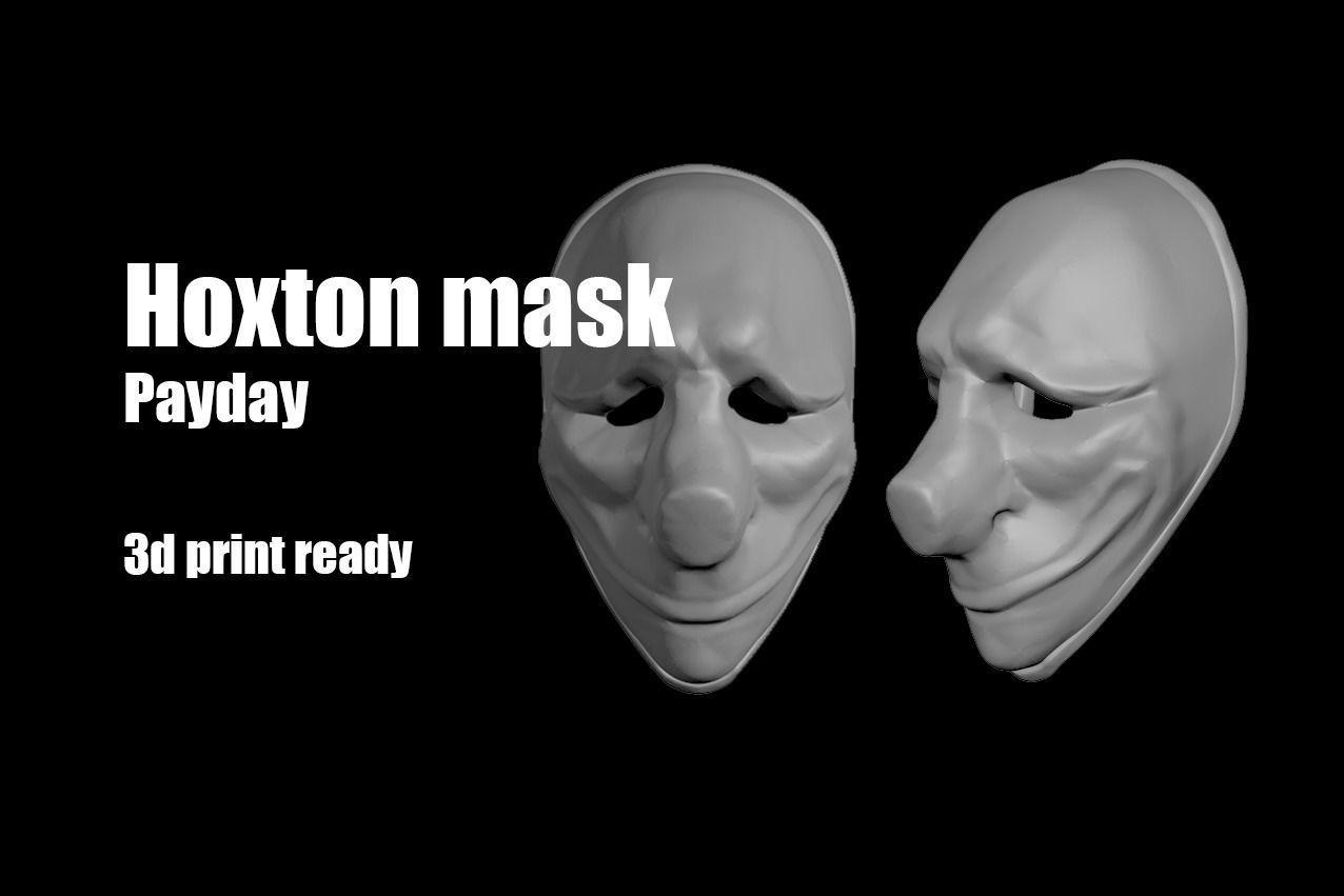 Hoxton Payday mask helmet