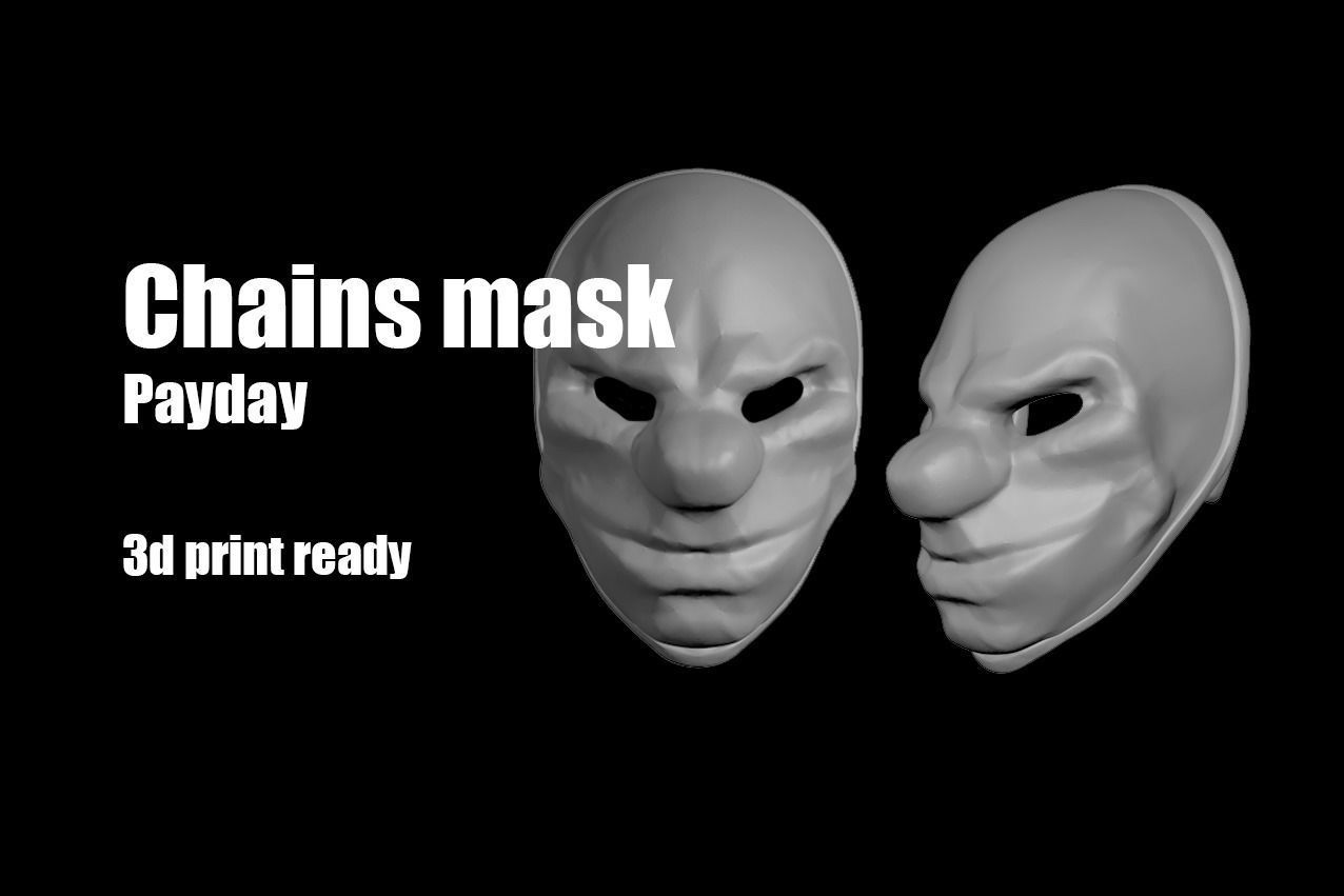 Chains Payday mask helmet