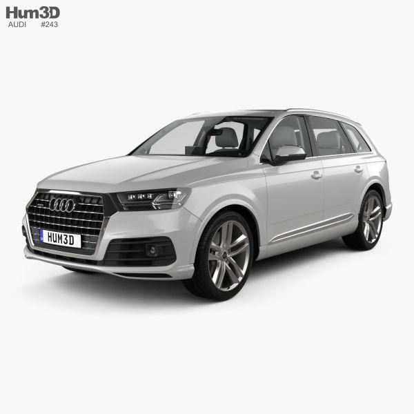 Audi Q7 S-line with HQ interior 2016
