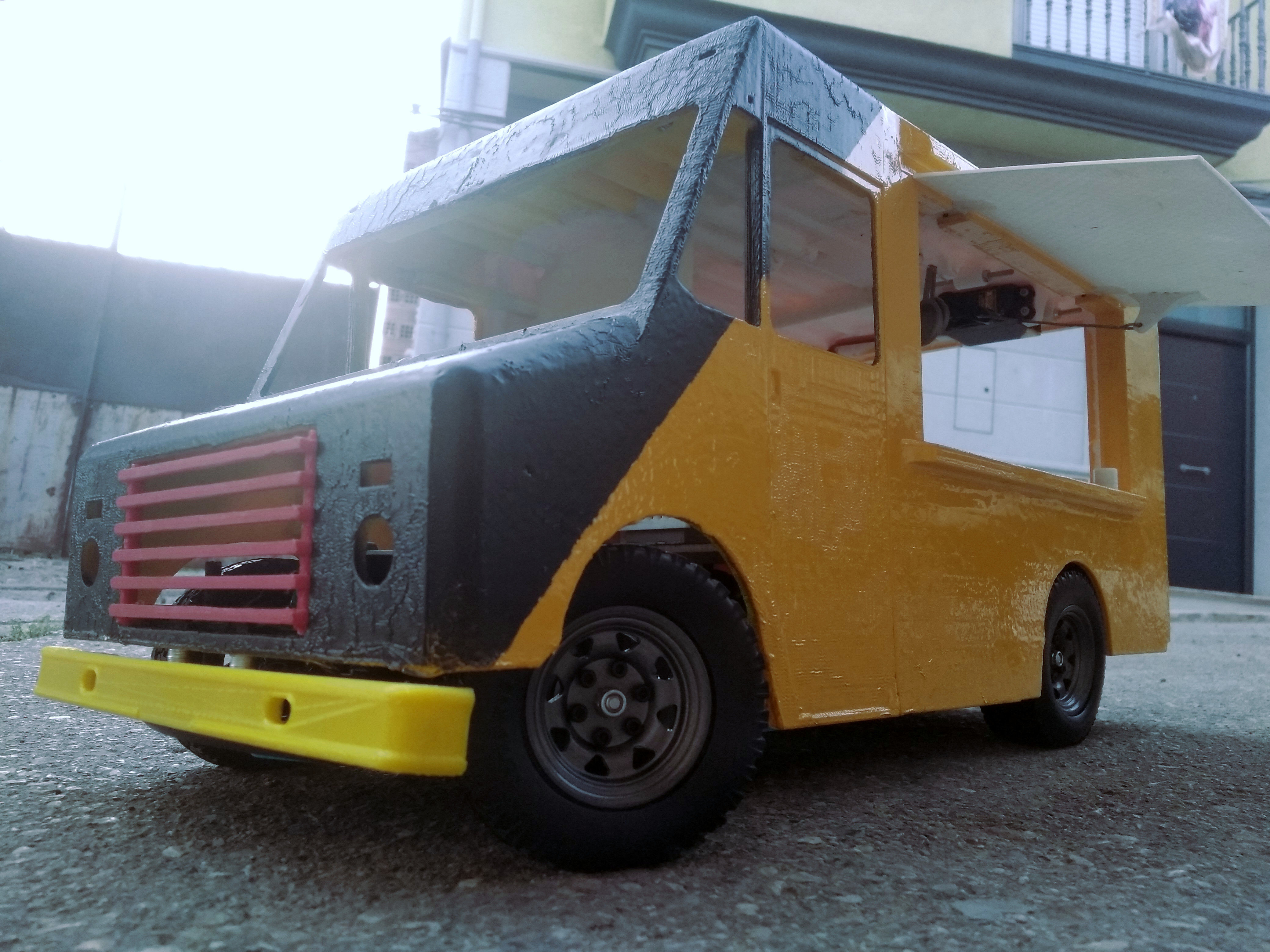 RC fast food drift rally trail crawler truck