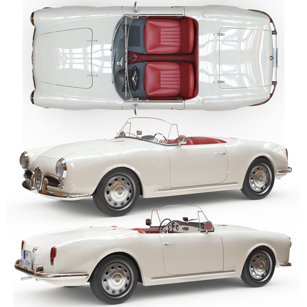 Alfa Romeo Giulia Spider 1964