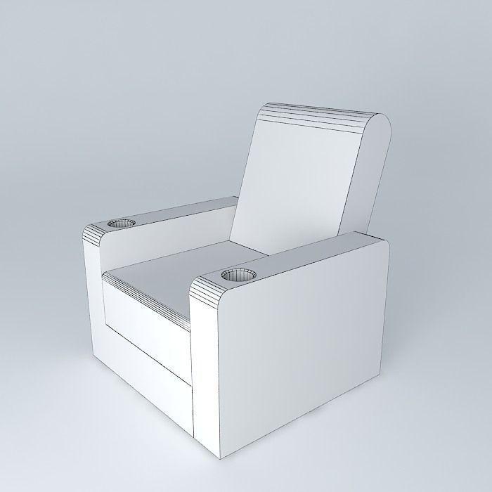 Free 3d model home theatre