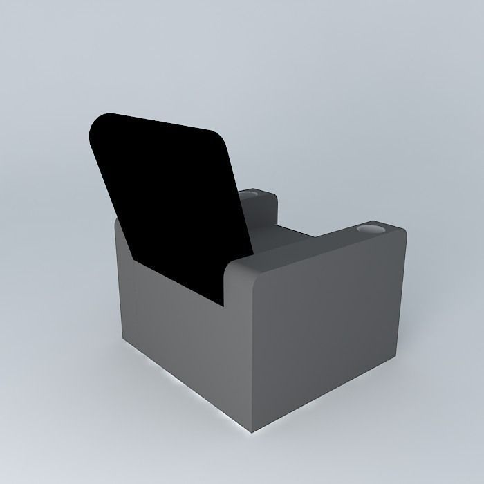 3D model Home Theater Chair | CGTrader