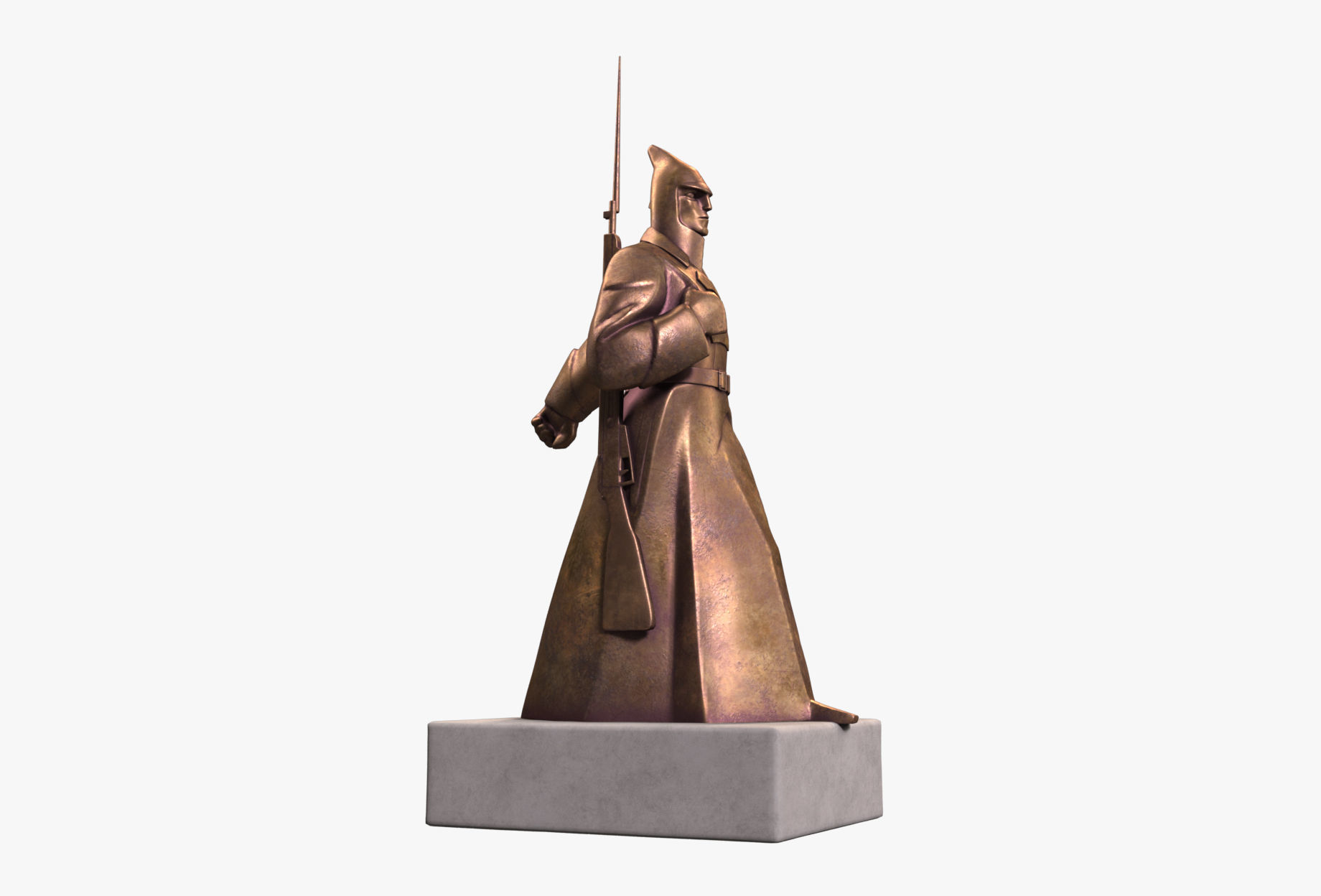 Red Guard Soldier Sculpture