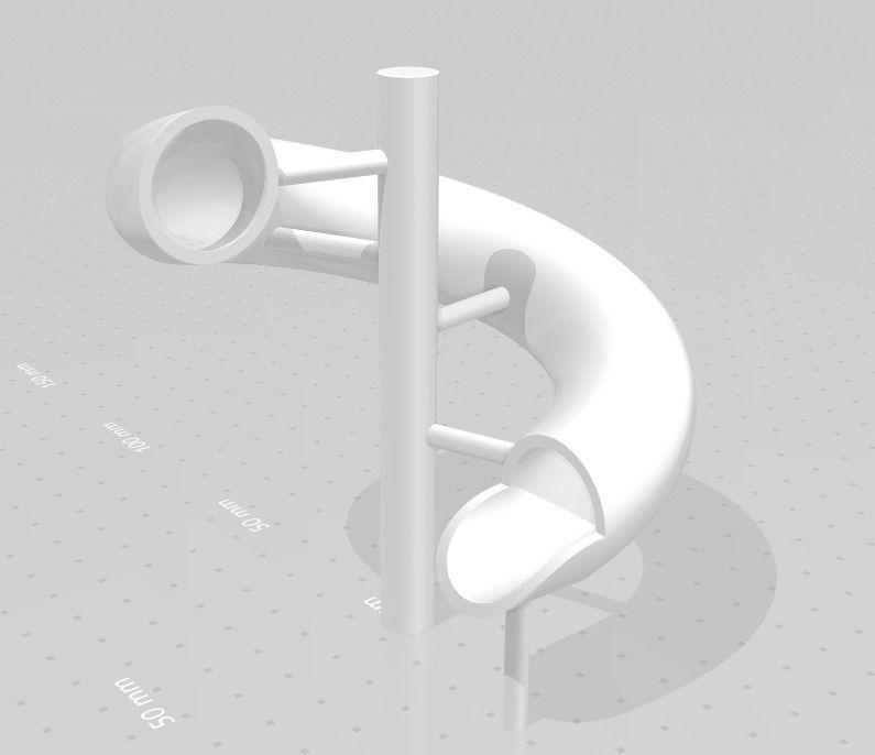 Simple water slide design