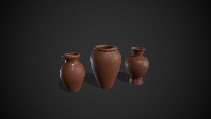 Clay Pots Vase