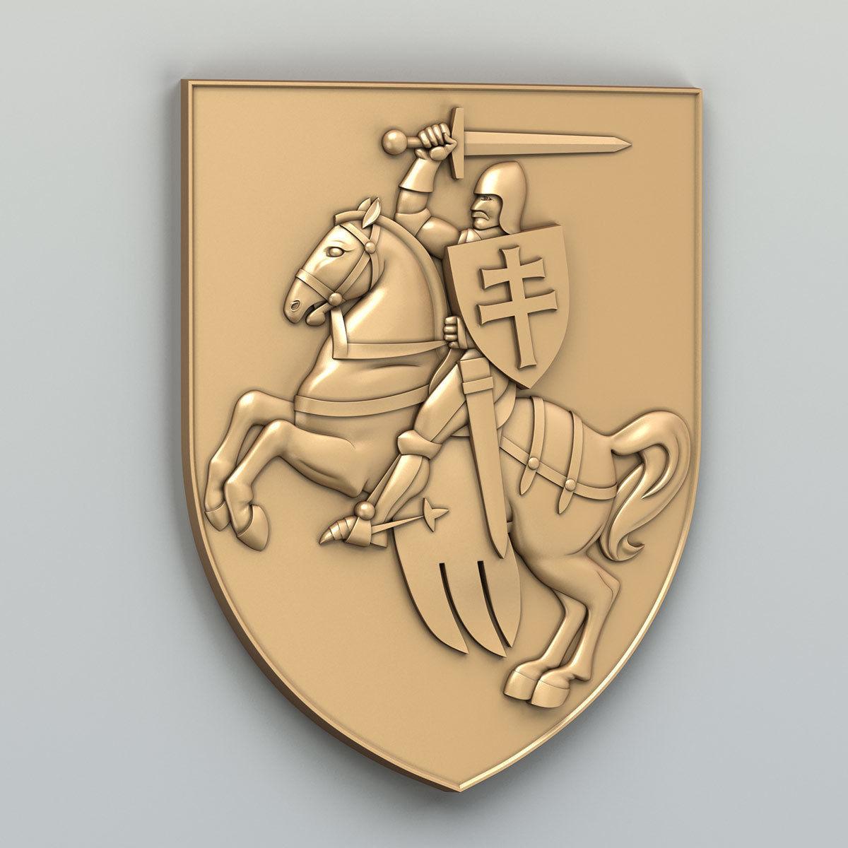 Coat of arms of Belarus Pogonya - type A