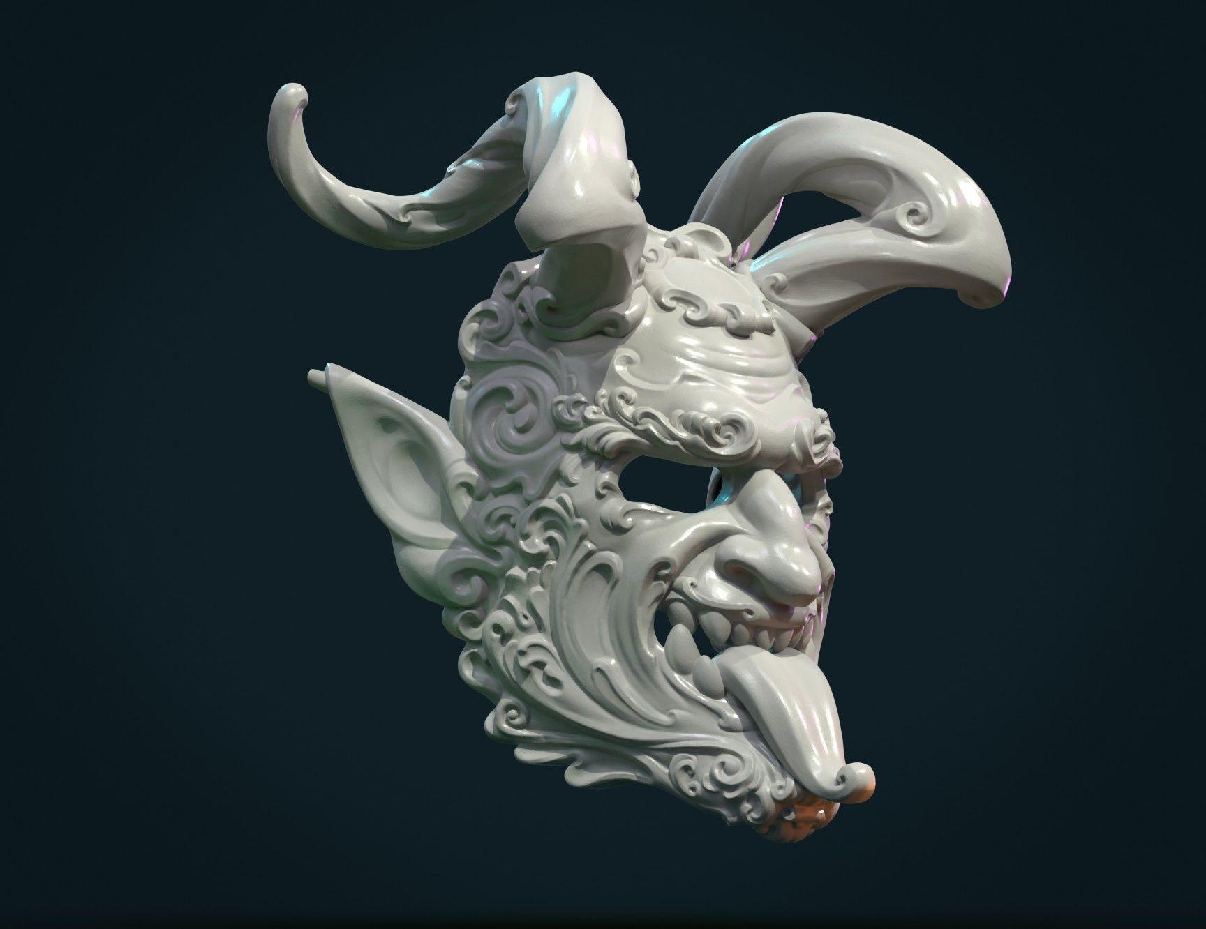 Demon Satyr Mask