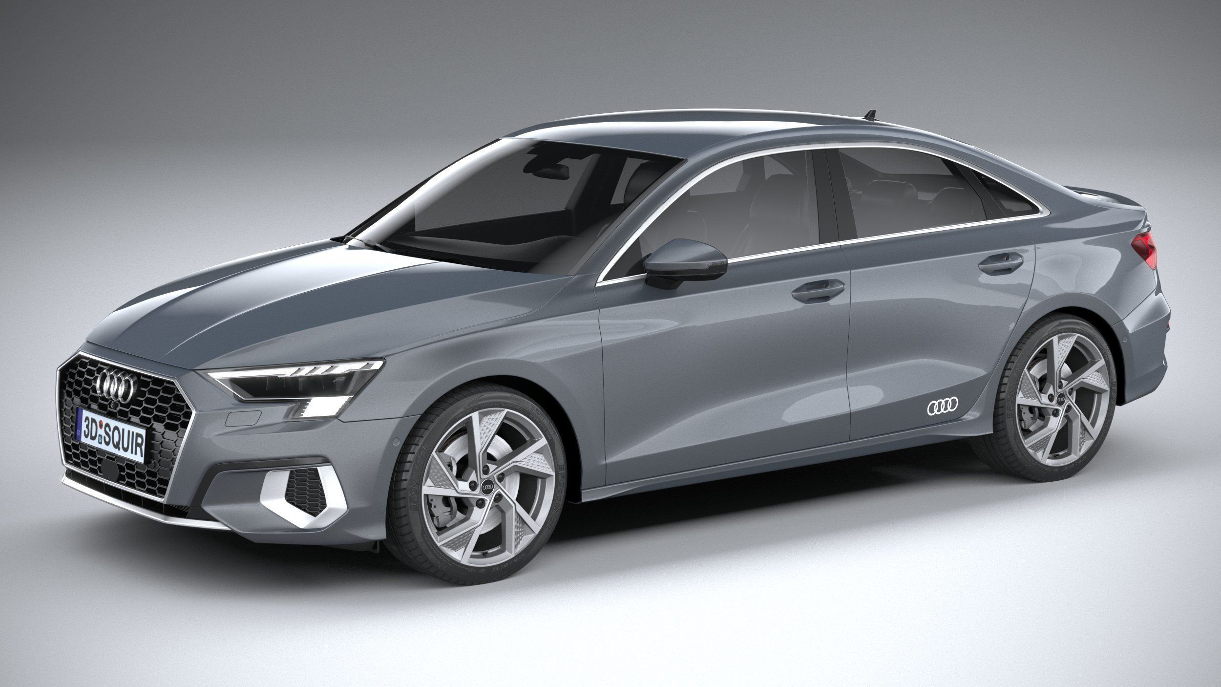3D model Audi A3 Sedan 2021 | CGTrader
