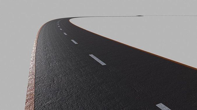 Asphalt Road - PBR