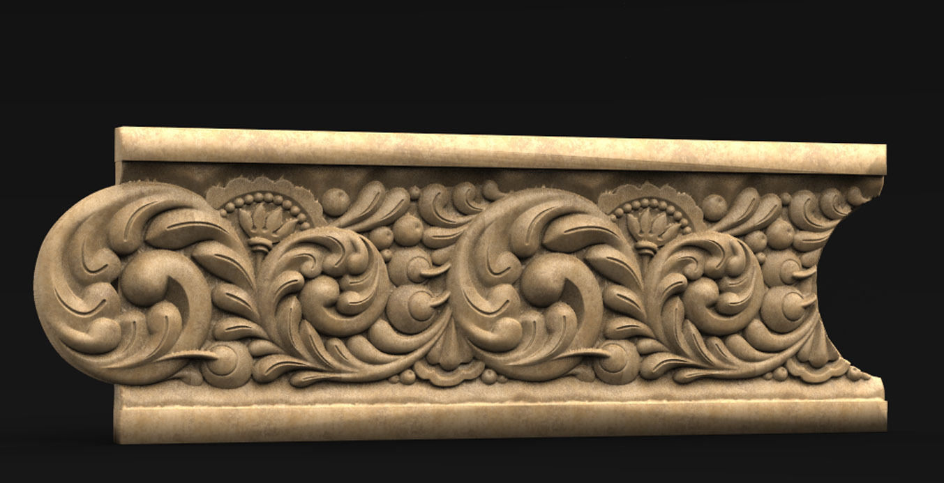 Decorative Marble 7 3D Model