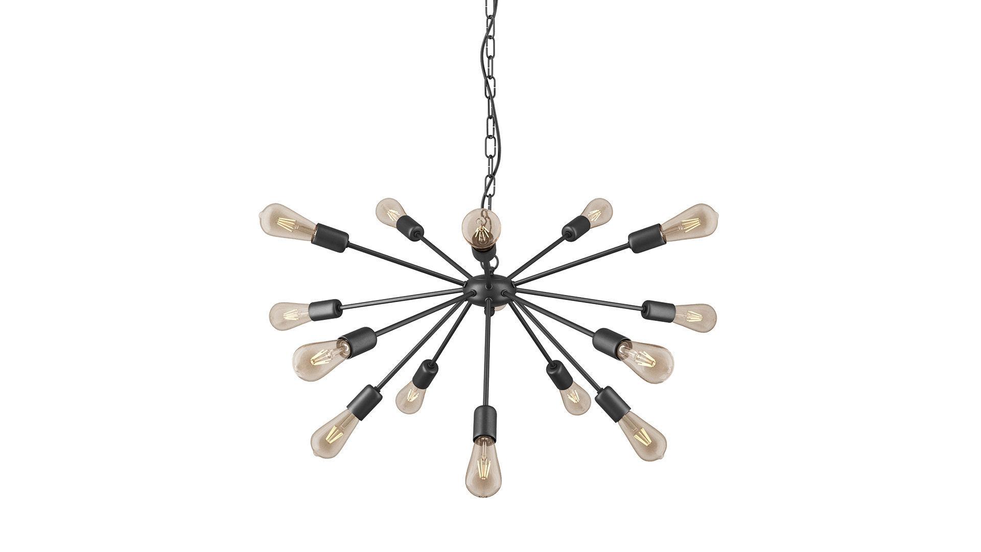 Nowodvorski ROD BLACK XV 9733 lamp