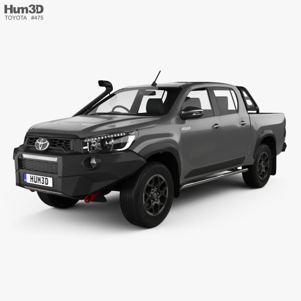 Toyota Hilux Double Cab Rugged X 2020