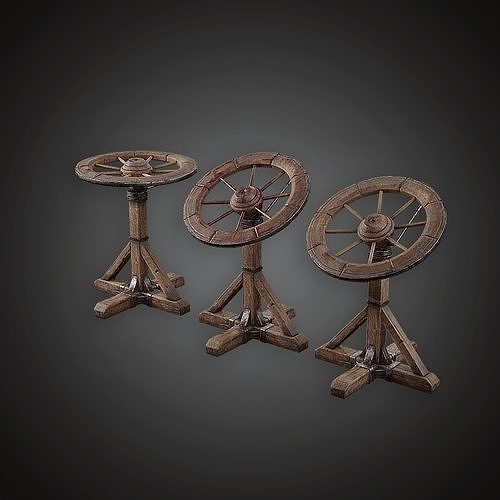 MVL - Torture Wheel - PBR Game Ready