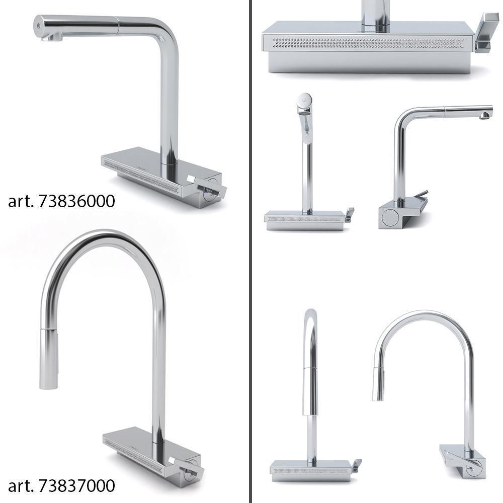 Kitchen faucets HANSGROHE Aquno Select