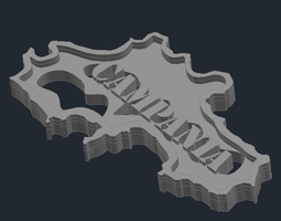 Regione Campania 3D printable model