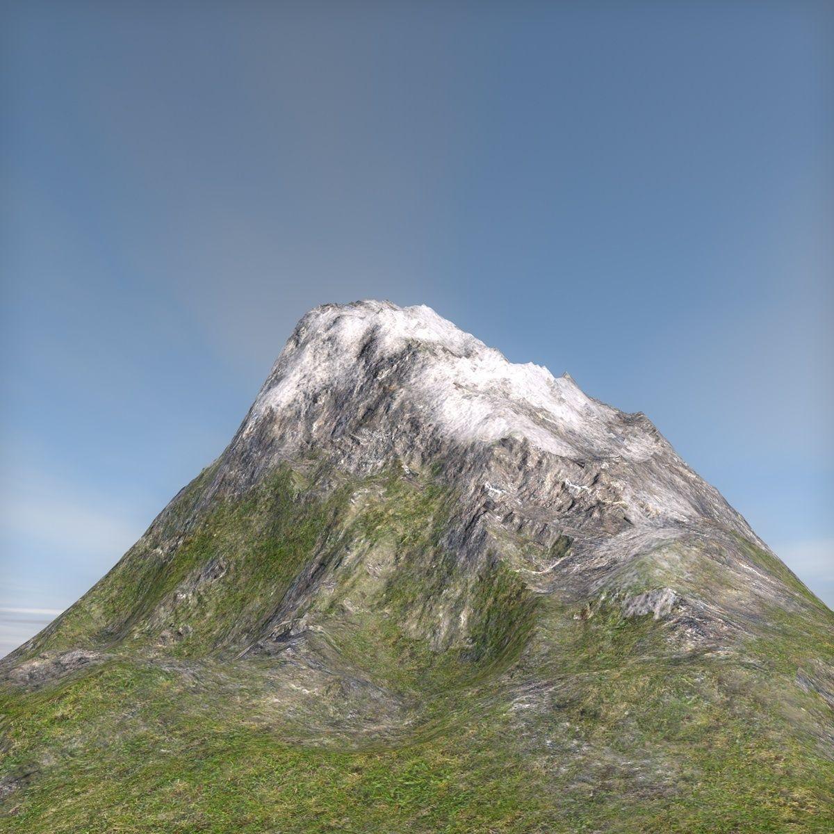 Terrain mountain
