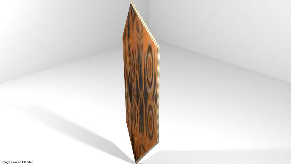 3D Personal Armor Shield - Roman Shield | CGTrader