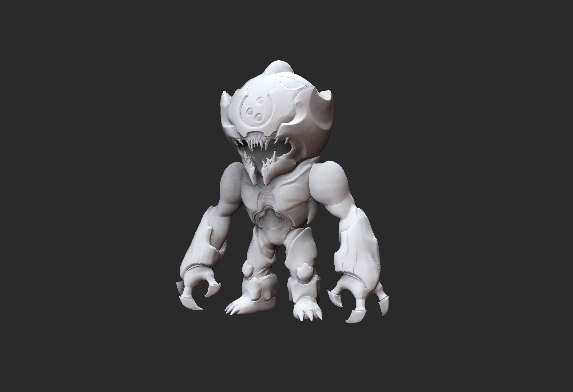 Prowler Doom Collectable Toy 3D Model STL File