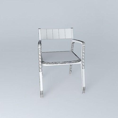 Daniela Chair: Daniela Chair Free 3D Model MAX OBJ 3DS FBX STL SKP