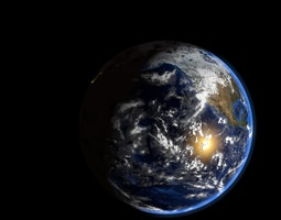 Ultra Realistic Earth 3D model