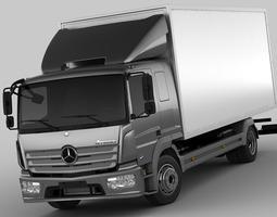 3D model Mercedes Atego 2014 Long