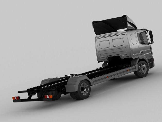 mercedes atego 2014 long 3d model max obj 3ds fbx c4d lwo lw lws 10