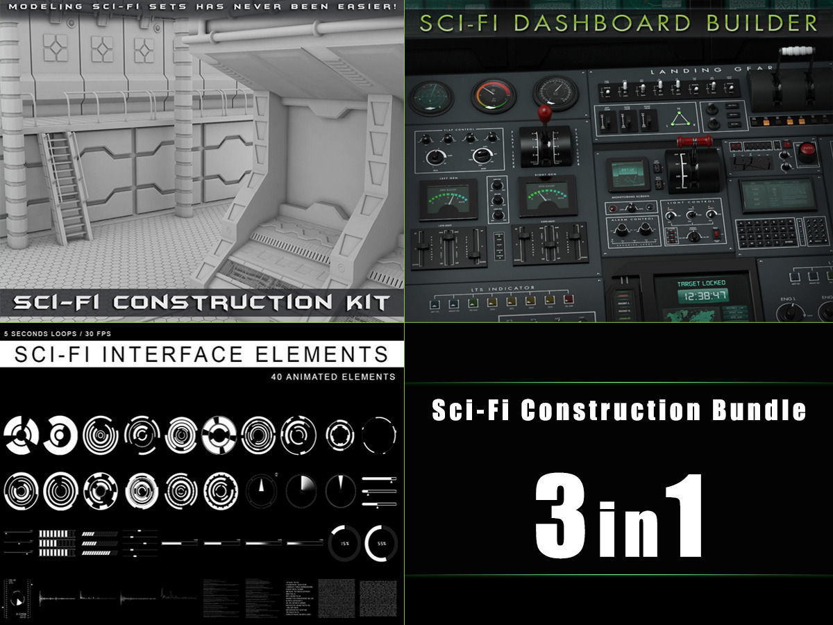 Sci-Fi Construction Bundle