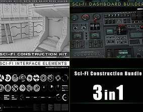 Sci-Fi Construction Bundle 3D