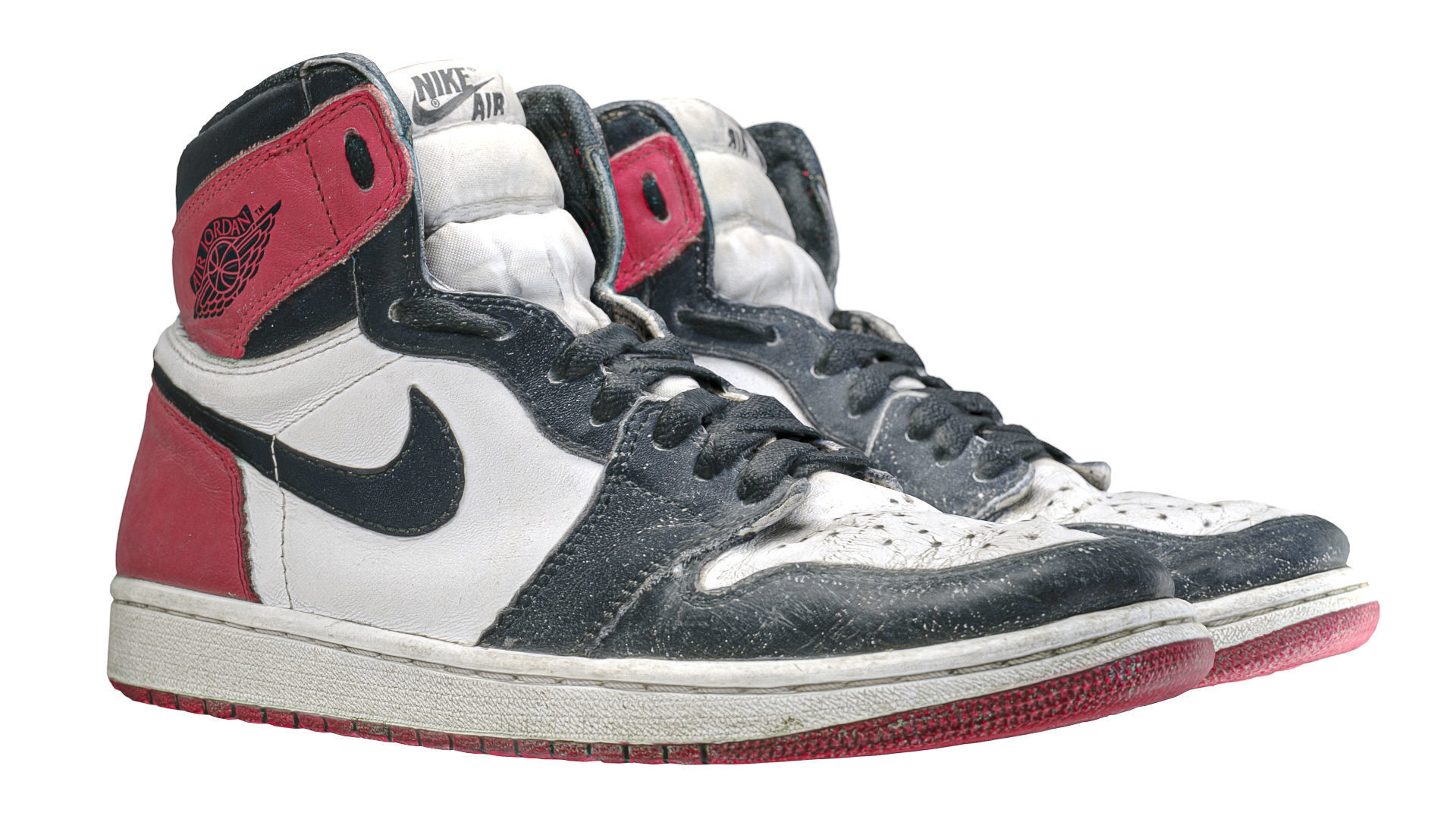 Jordan 1 Black Toe 2016 Photoscan