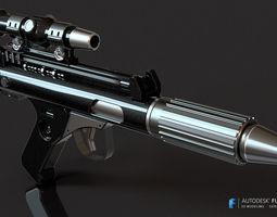 3D print model DH-17 blaster Pistol
